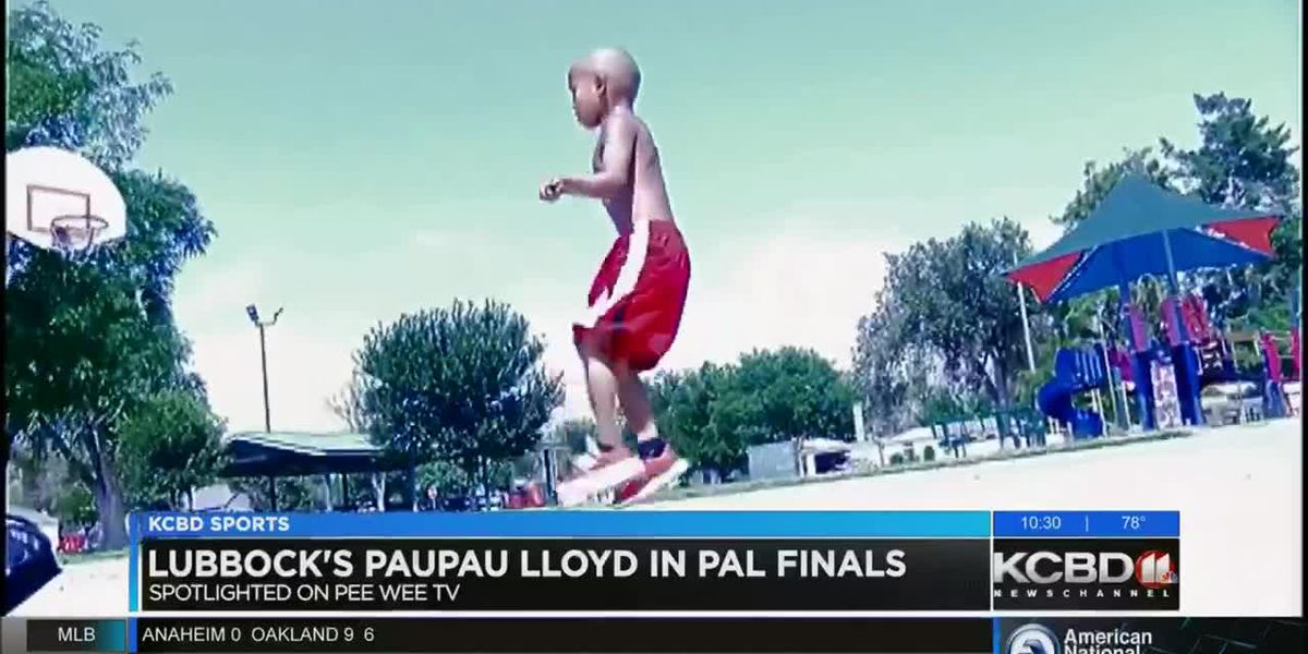 Lubbock's Paupau Lloyd in PAL finals