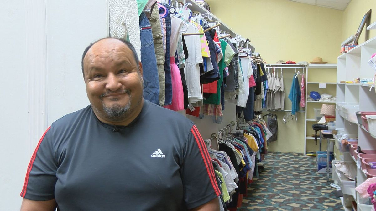 Non-profit in Lubbock helping students with back to school clothes