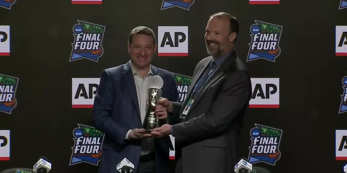 RAW: 2019 AP Men's Coach of the Year