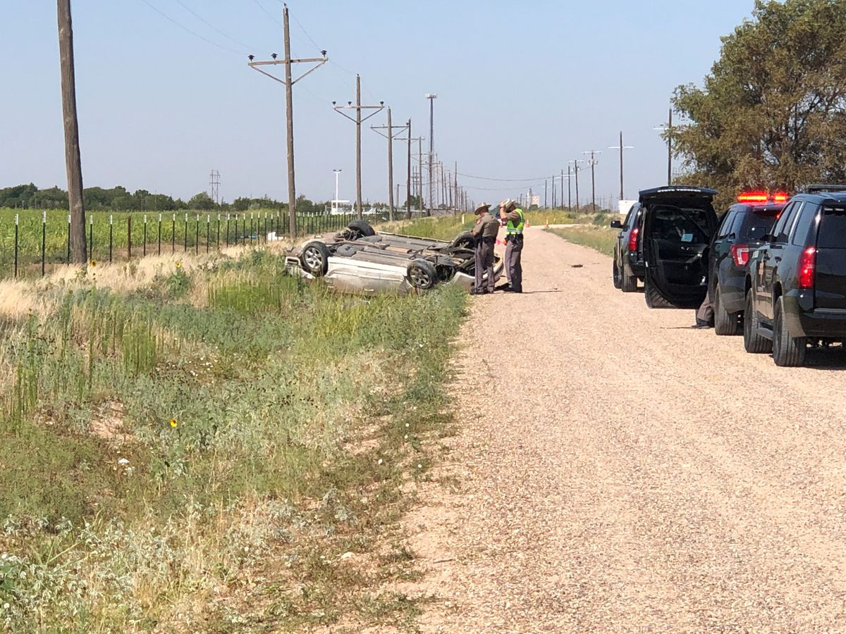 1 seriously injured in Northeast Lubbock Co. rollover