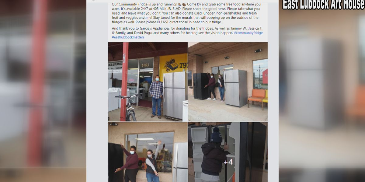 Donations needed to keep 'community fridge' going