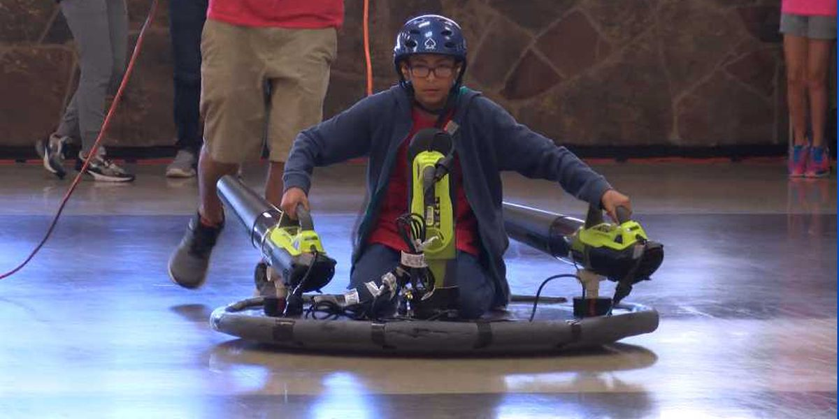 LISD middle school students compete in hovercraft STEM challenge