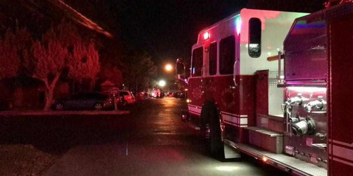 Friday morning apartment fire ruled arson, under investigation