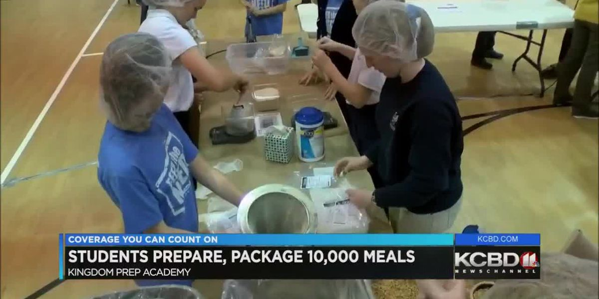 Students prepare 10,000 meals