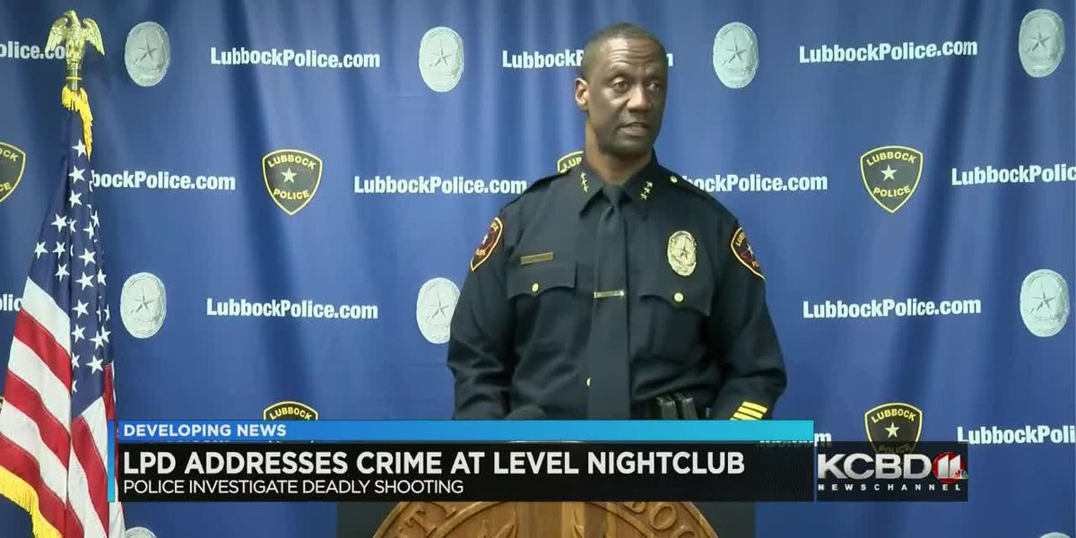 Lubbock Police promise 'more visible presence' after double homicide at Level Nightclub
