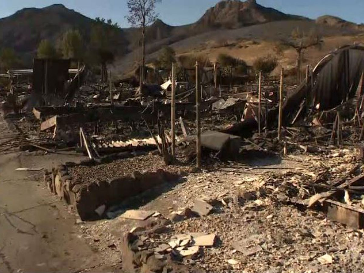 Search continues for missing, dead in California wildfires