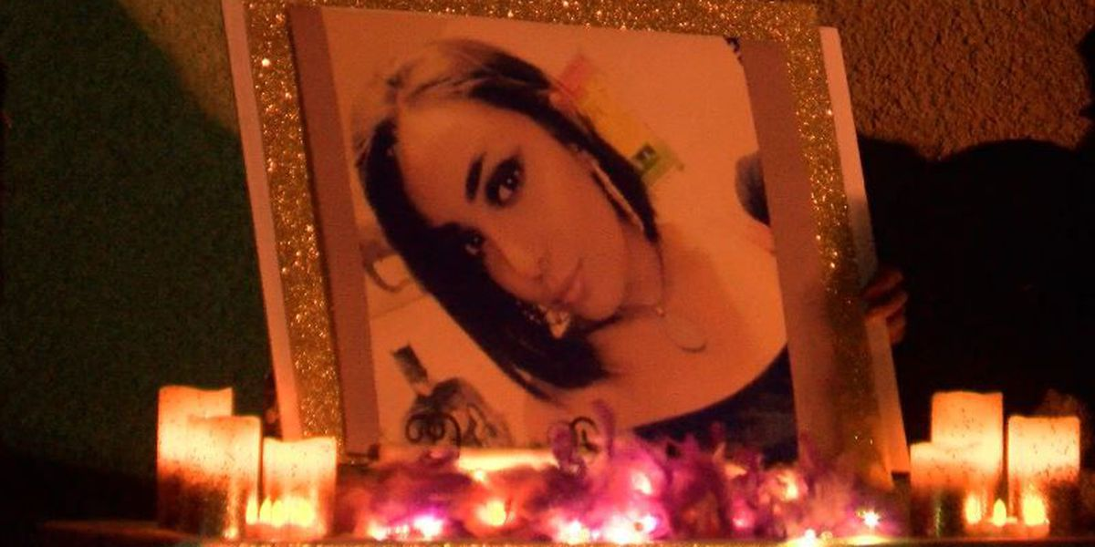 Family remembers slain Lubbock woman during candlelight vigil
