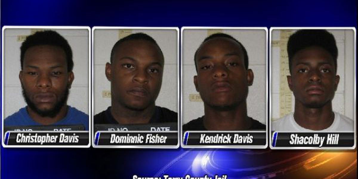 Brownfield men, including star QB, charged with attempted murder