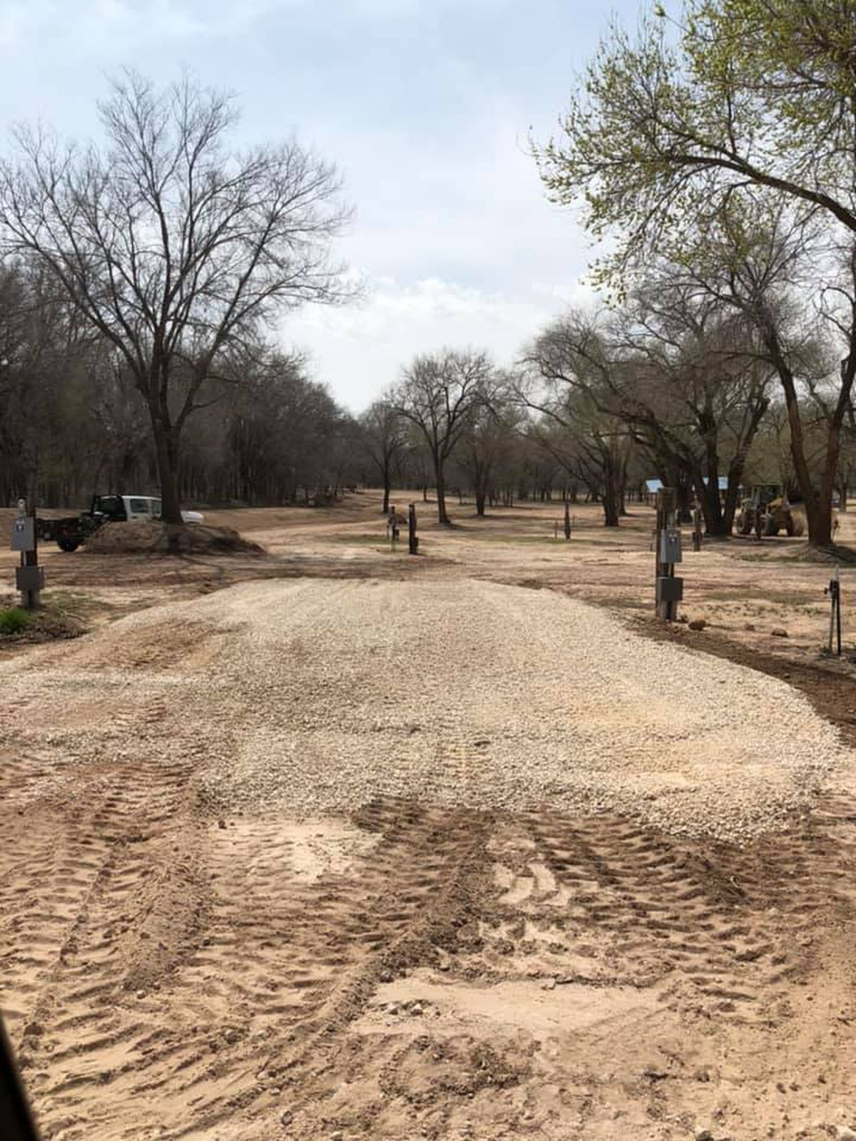 buffalo springs lake announces campground improvements