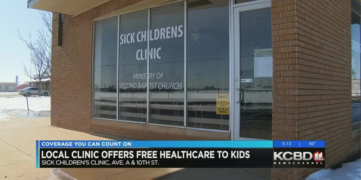 Local clinic offers free healthcare to kids
