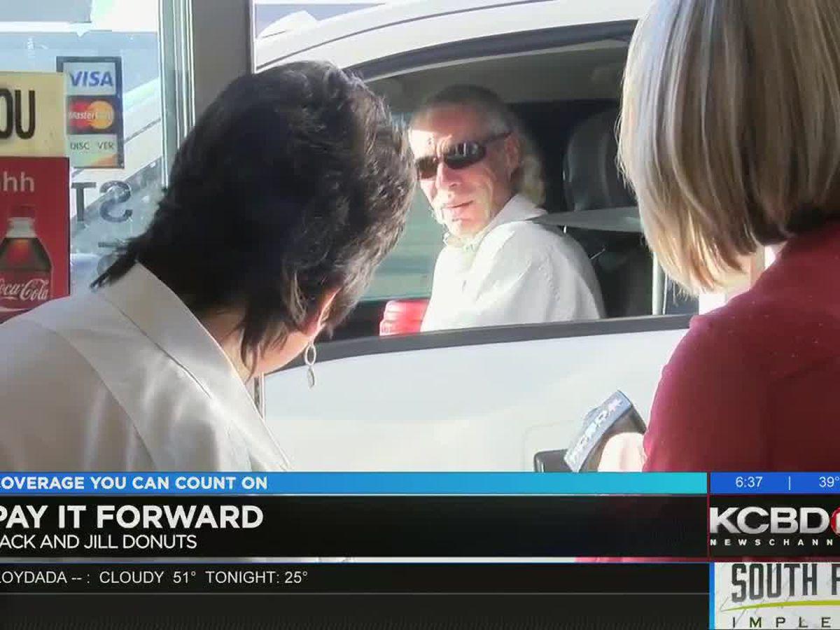 Pay It Forward: Giving at Jack and Jill Donuts