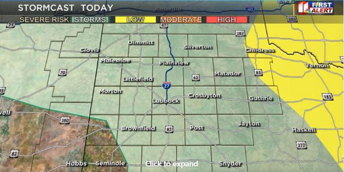 First Alert Weather: Today's rain and storm outlook