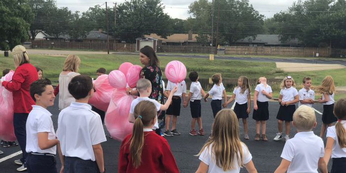 Second grade class helps 7-year-old celebrate clear cancer scan