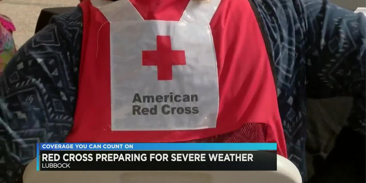 Red Cross prepared for strong storms