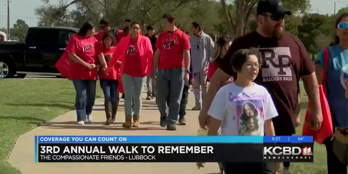 Compassionate Friends host third Walk to Remember