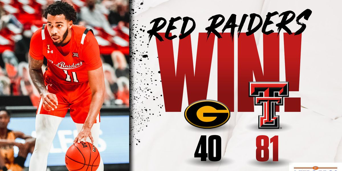 No. 17 Red Raiders roll past Grambling