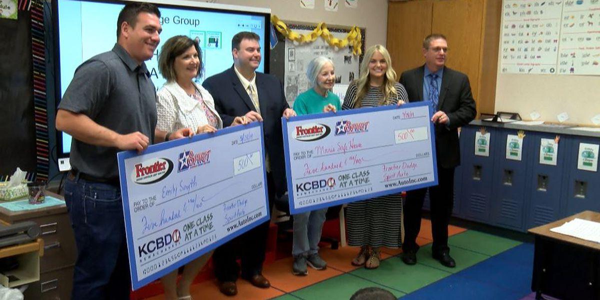 One Class At A Time: Preston Smith Elementary teacher, Morris Safe House awarded $500