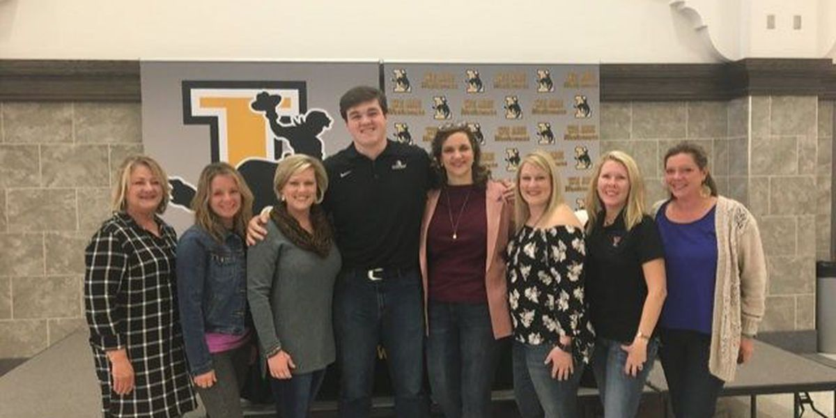 Lubbock High's James Brady signs to play college football