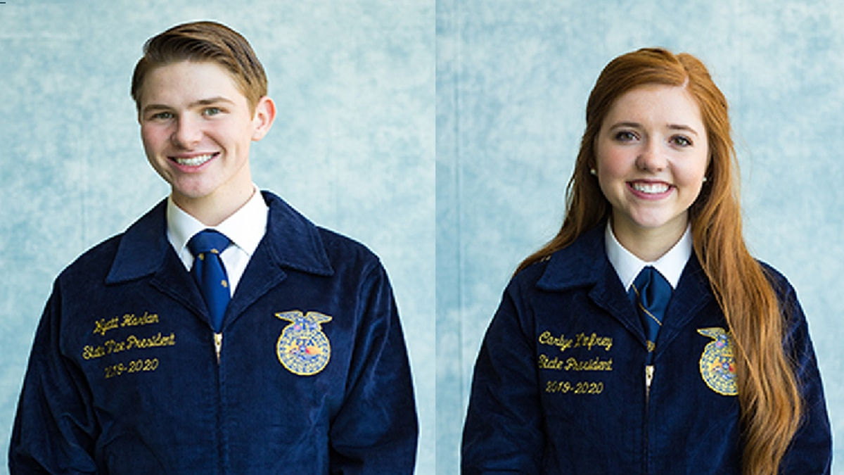 Seminole County School Calendar 2016-2020 West Texas students elected President and Vice President of State FFA