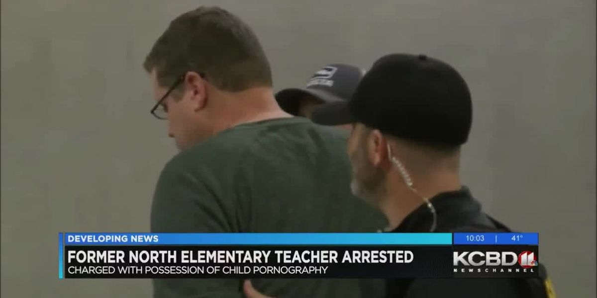 Former teacher charged with possession of child pornography