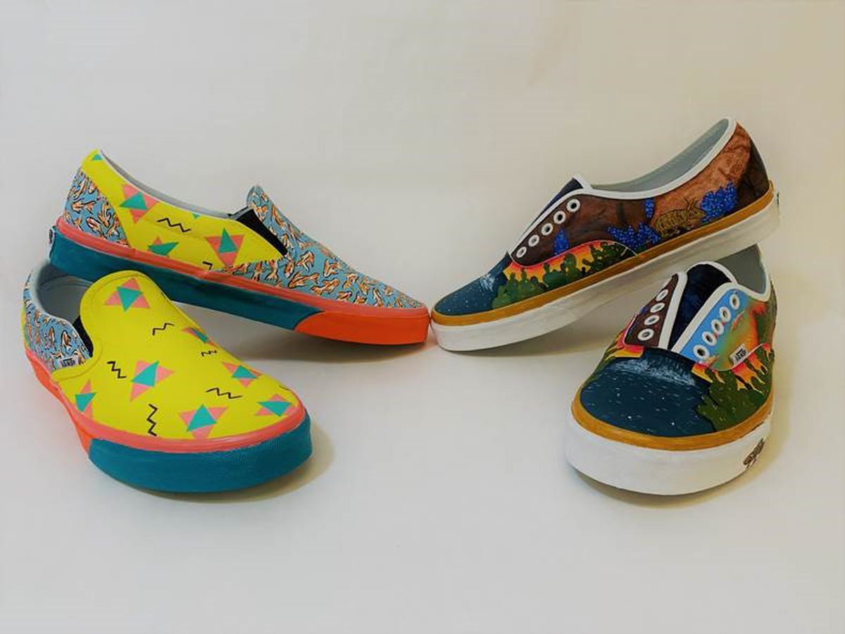 Muleshoe shoes in top 50 for nationwide Vans art contest