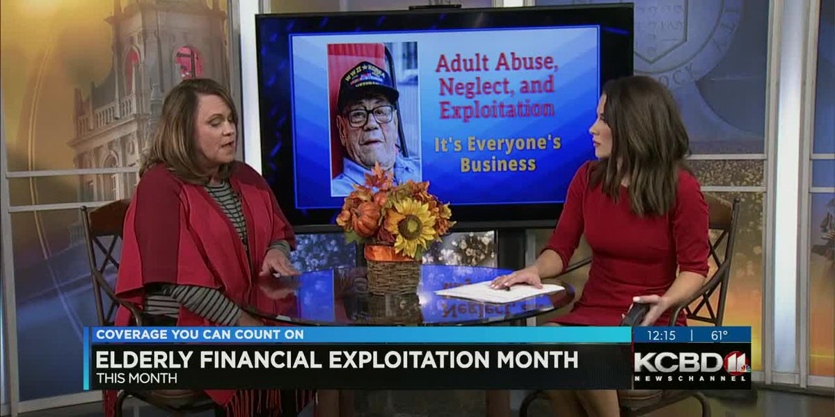 Noon at Noon: Elderly Financial Exploitation Month