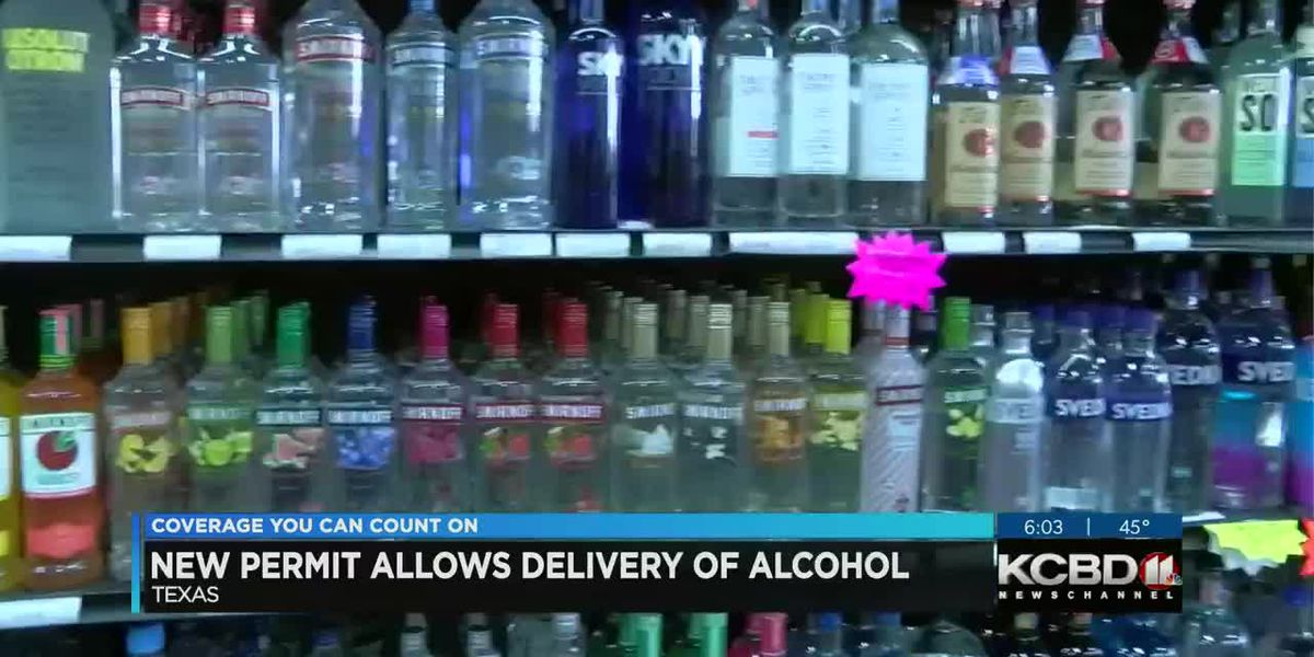 New TABC permit allows third party delivery of alcoholic beverages to Texans doors