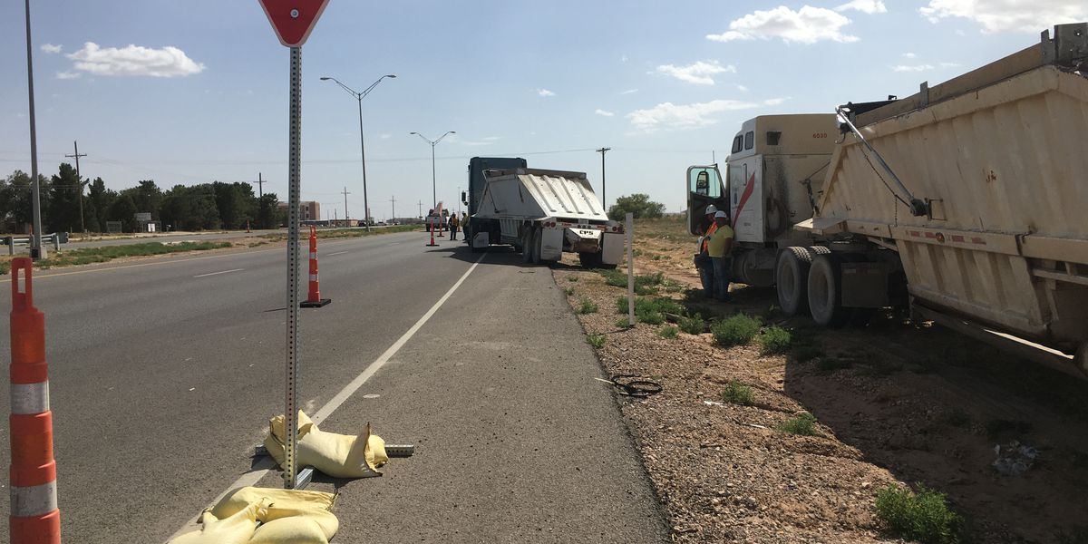 TXDOT projects continue in West and East Sides of Lubbock