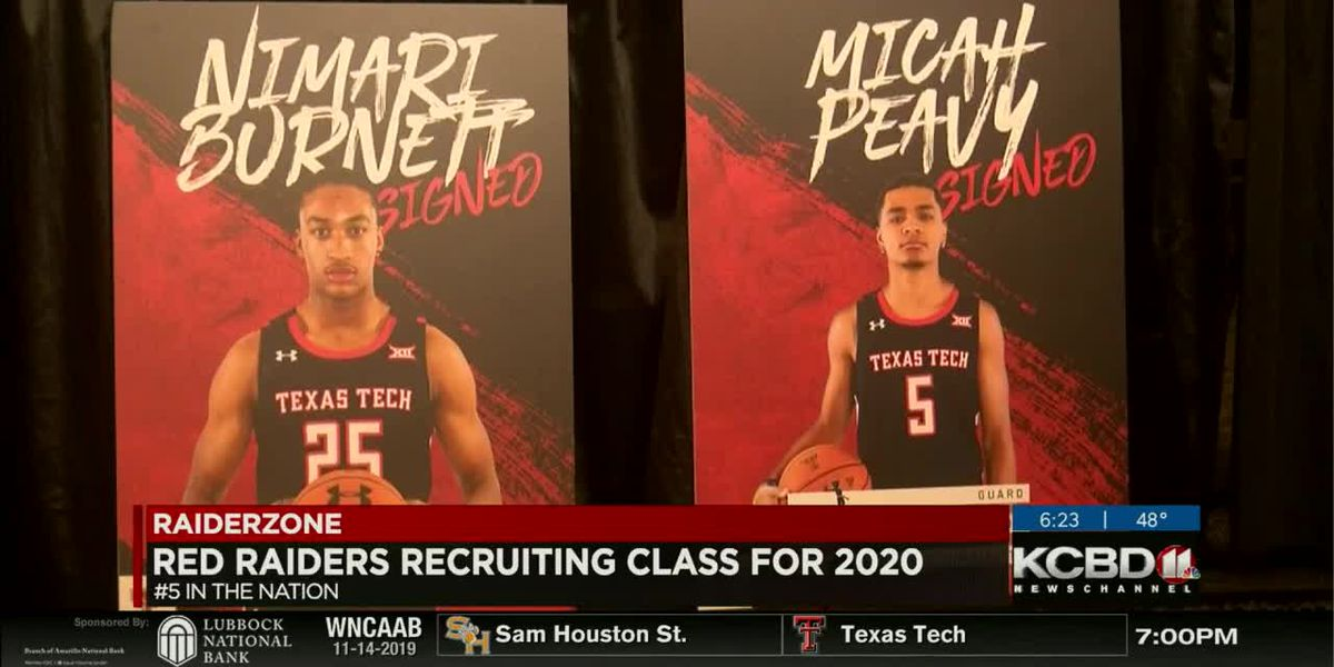 Red Raider recruiting class for 2020