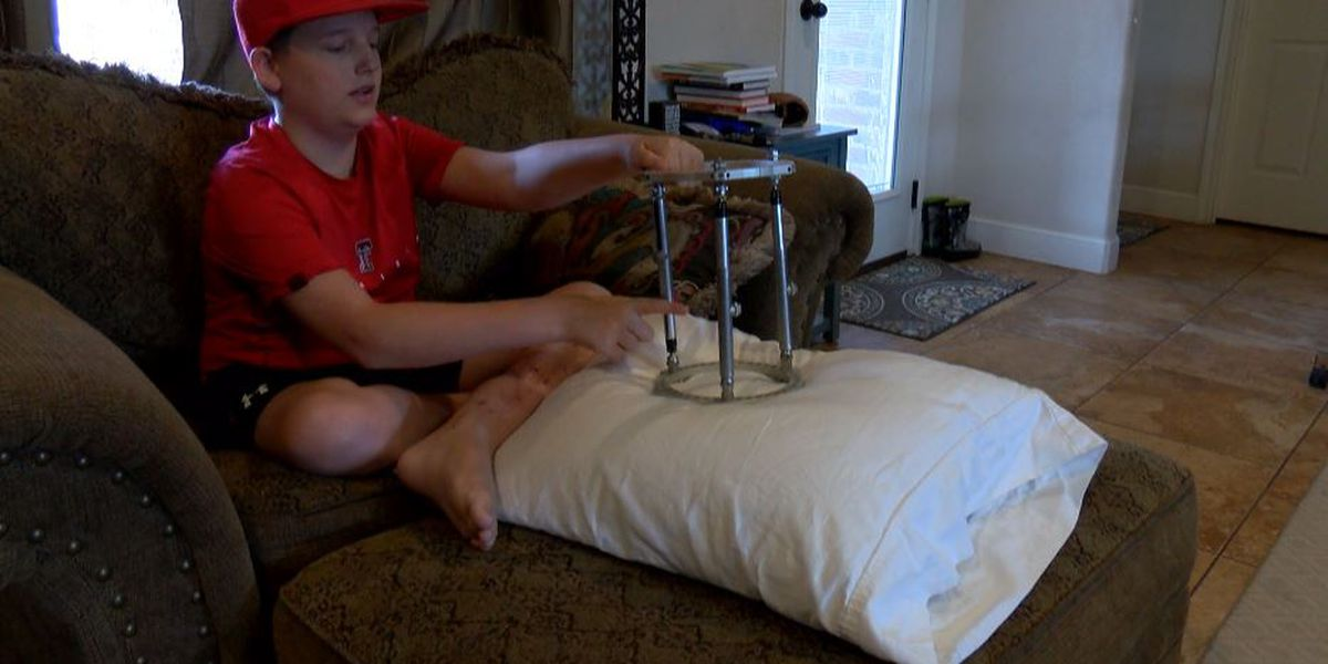 UMC Children's Hospital makes healing & walking possible for Will Jordan after utility vehicle crash