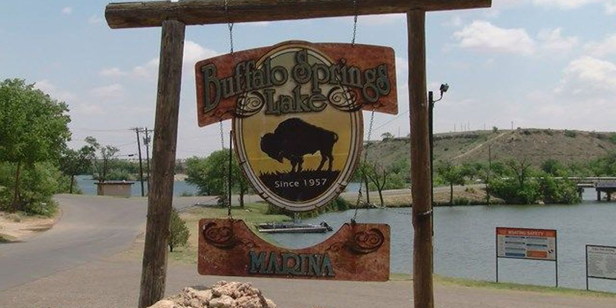 Buffalo Springs Lake bridge undergoing 4 week construction project