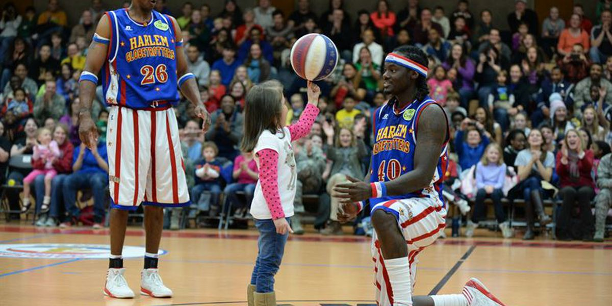 Harlem Globetrotters returning to Lubbock in March