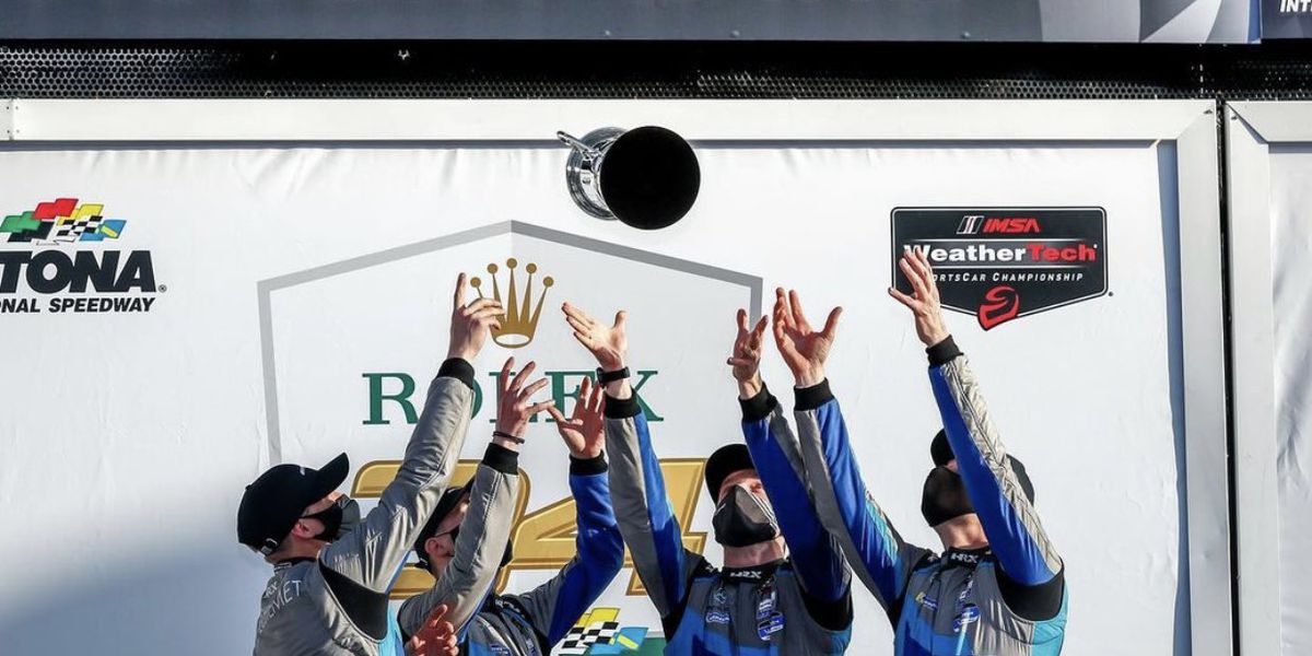 Red Raider Russell Ward wins 24 Hours of Daytona event