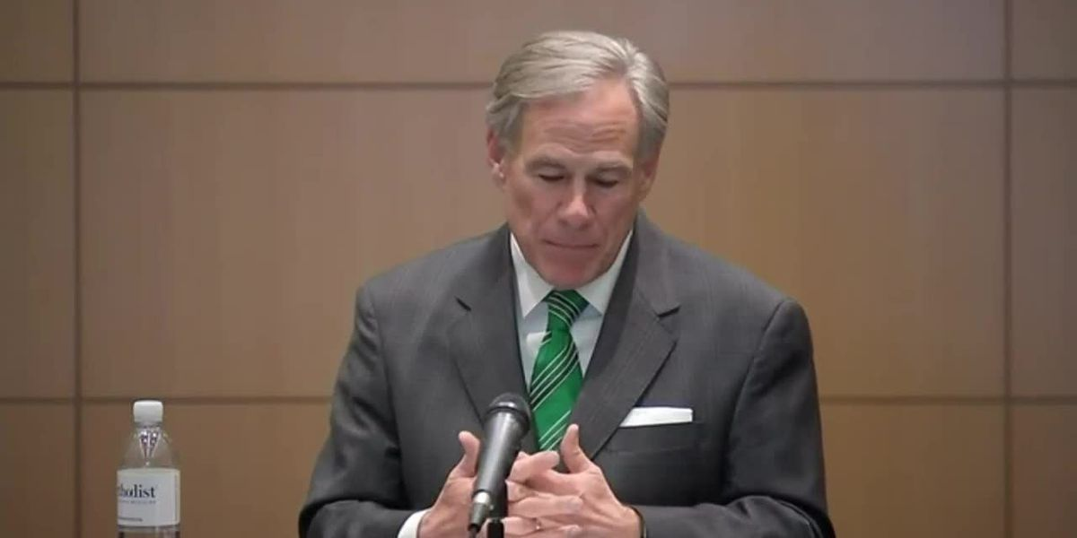WATCH LIVE: Gov. Abbott news conference in Corpus Christi