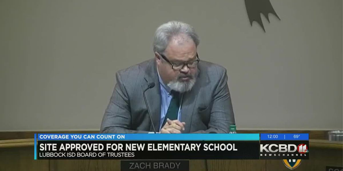 LISD Board approves site for new North Lubbock elementary school