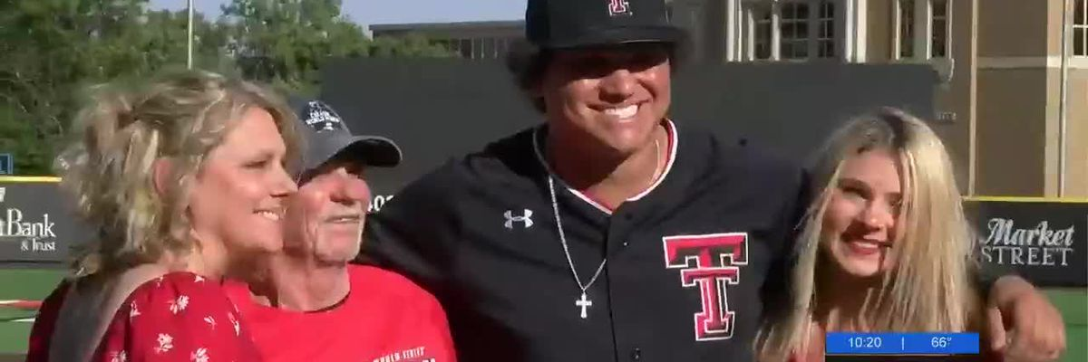 Texas Tech baseball are Big 12 champions