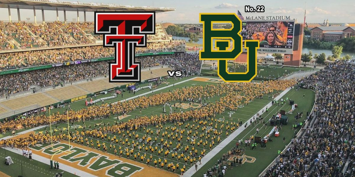 Texas Tech vs. No. 22 Baylor: 3 Keys to Victory for Tech