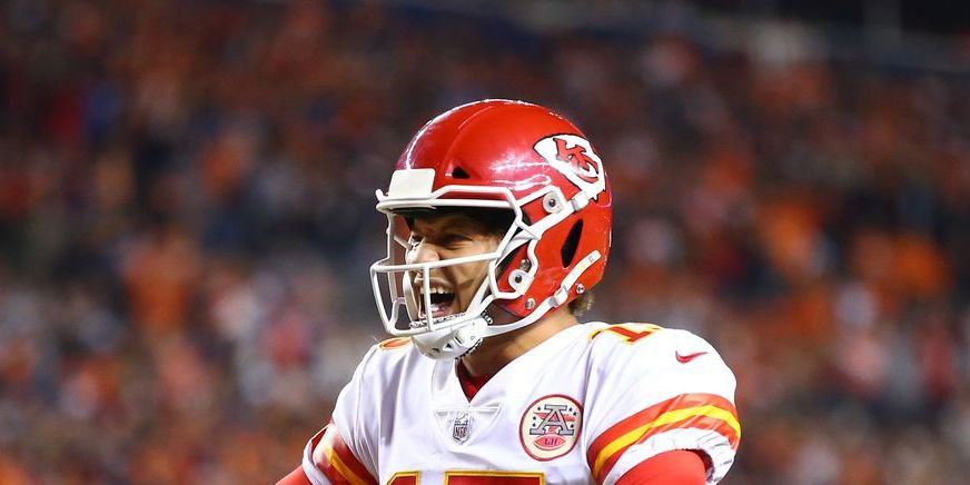 Patrick Mahomes nominated for two ESPY's