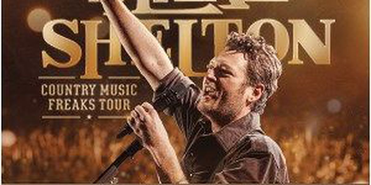 What you need to know for tonight's Blake Shelton concert in Lubbock