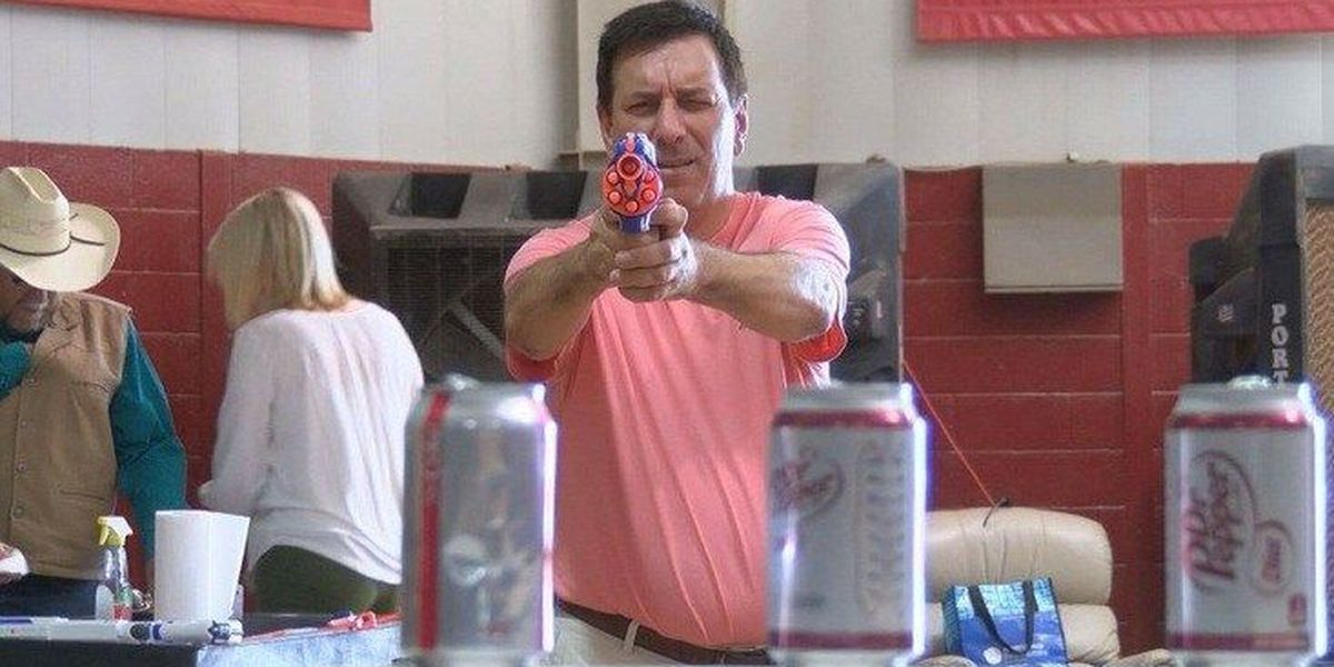 I Beat Pete: Cowboy Nerf Gun Challenge