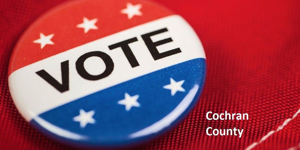 Several contested races for March Primary in Cochran County