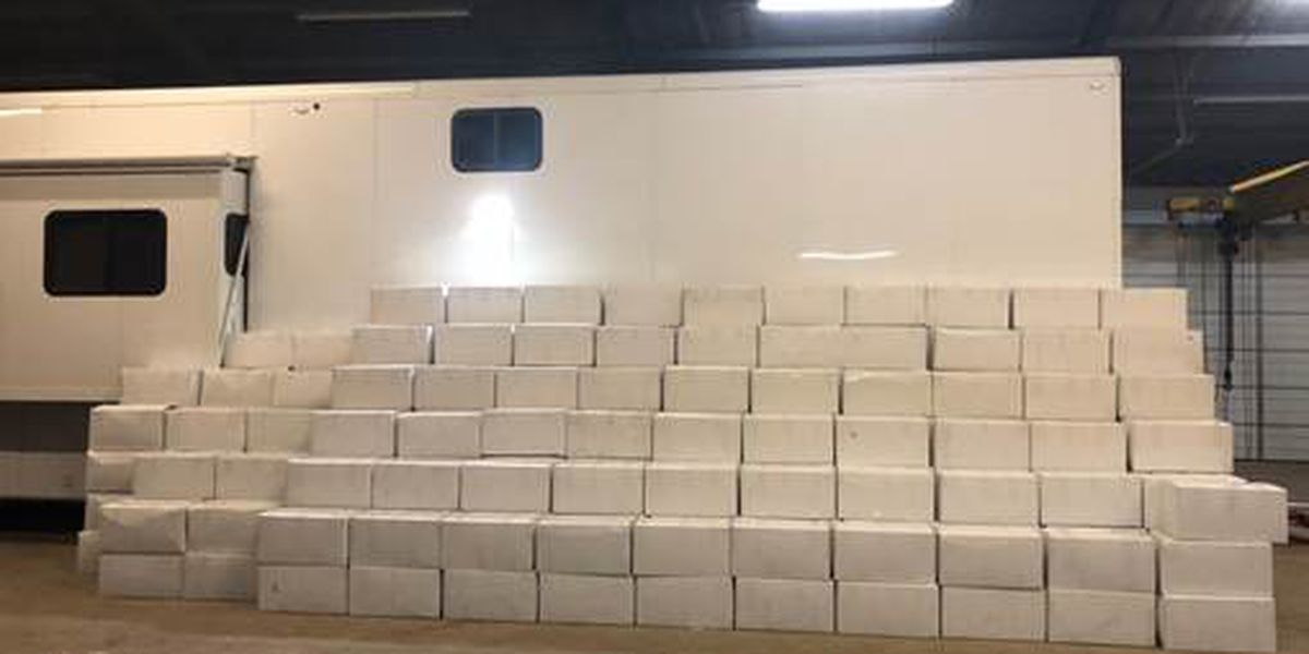 Almost 6,000 pounds of drugs discovered during Texas DPS traffic stop