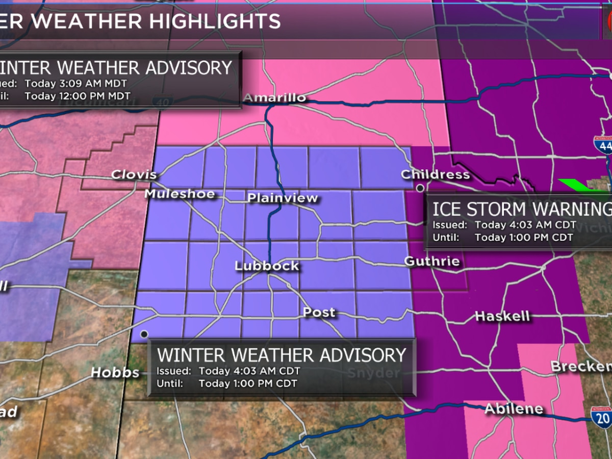 Winter weather, ice to continue throughout morning