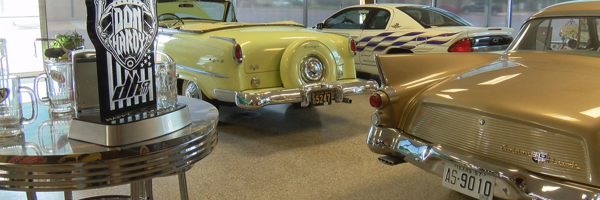 Don Hardy continues to work on classic cars in Floydada