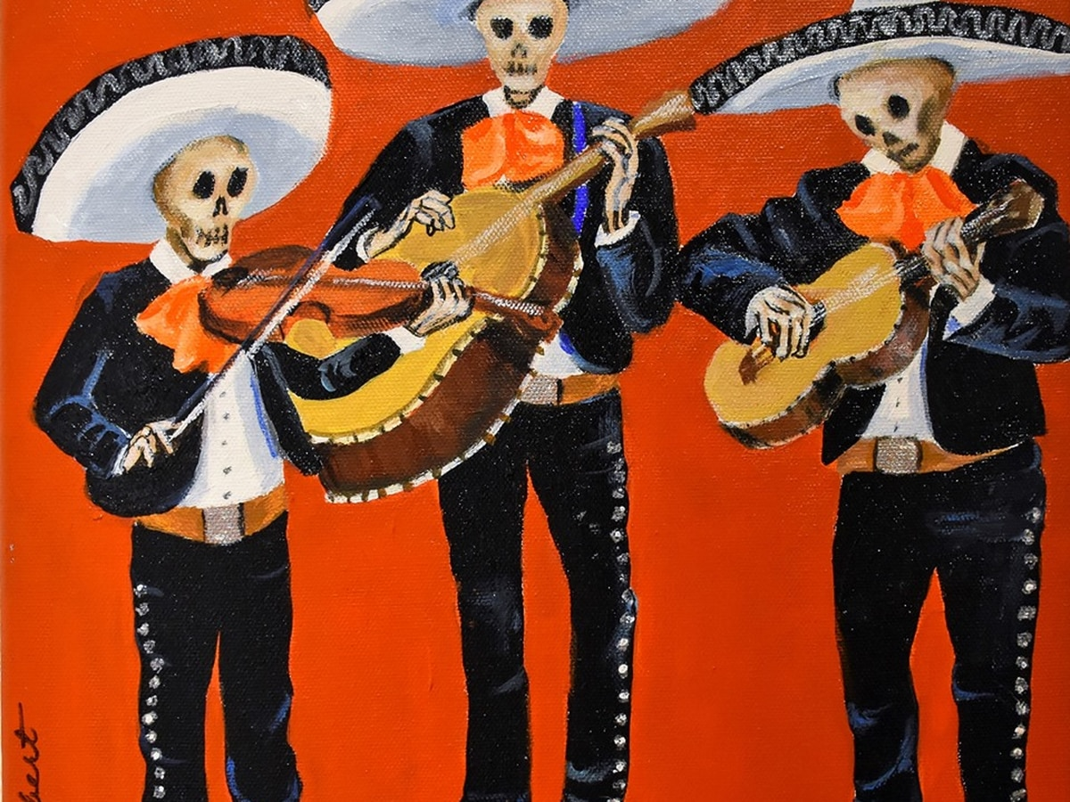 Day of the Dead Procesiόn runs Friday evening, Nov. 1