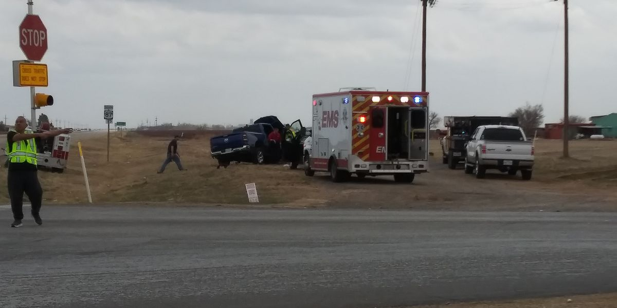 Pregnant woman involved in wreck at US 87 & FM 41 on Friday afternoon