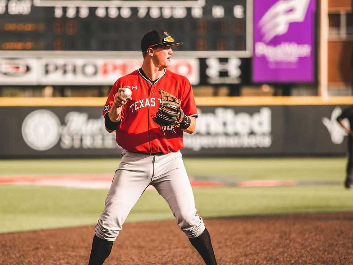 Josh Jung named Big 12 Co-Player of the Year; Five Red Raiders selected for All-Big 12 first team, tying program record for second year