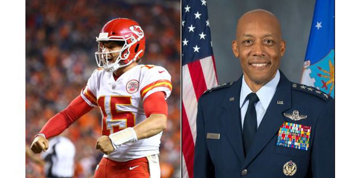 TTU alumni Patrick Mahomes, Gen. Charles Q. Brown Jr. make Time's 100 most influential people