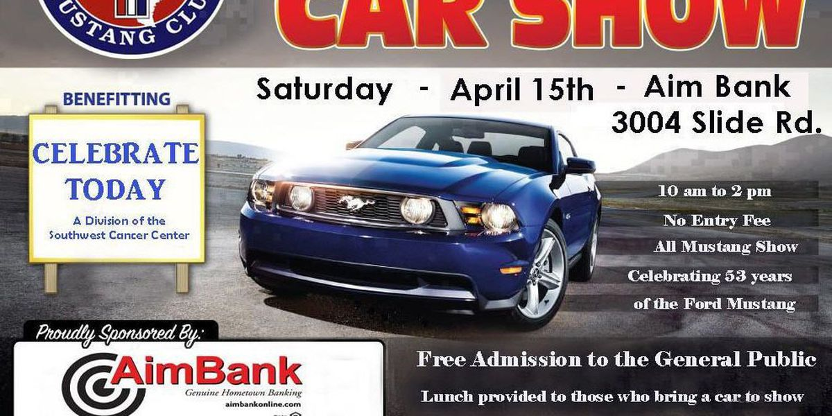 Mustang car show to benefit Southwest Cancer Center