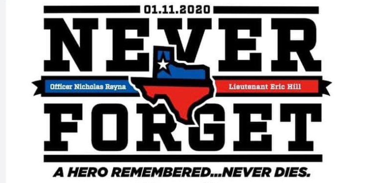 Here is where you can get the official t-shirts this weekend for killed, injured Lubbock first responders